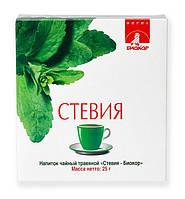 Напиток чайный Стевия  25г Биокор  БАД
