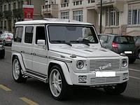 Комплект обвеса на Mercedes W461 и W463