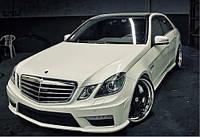 Комплект обвеса  AMG для Мерседес W212 AMG стиль.