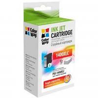 Картридж ColorWay Canon PGI-1400XL Cyan MB2040/MB2340 (CW-PGI-1400XLC)