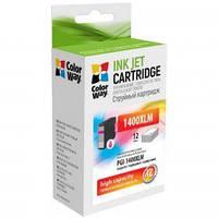 Картридж ColorWay Canon PGI-1400XL Magenta MB2040/MB2340 (CW-PGI-1400XLM)