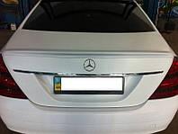 Спойлер лип-спойлер на Мерседес W221, Mercedes W221