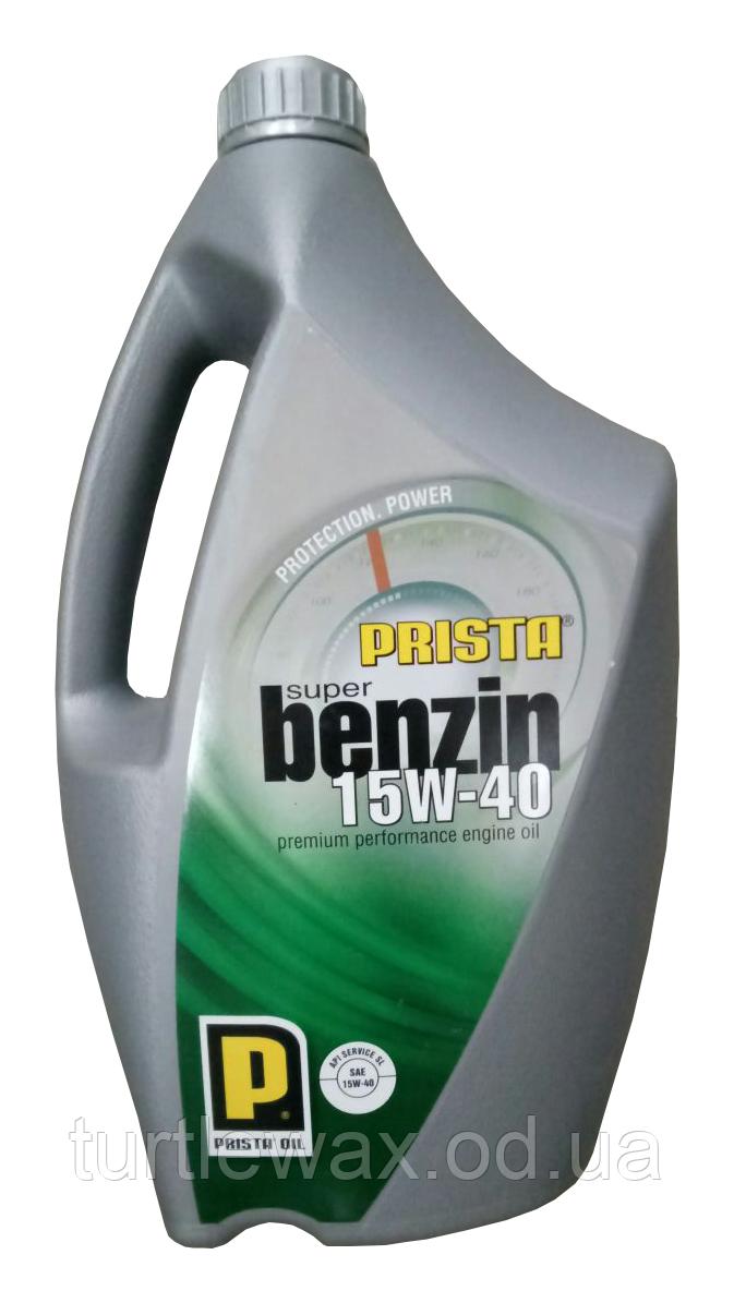 Масло моторное PRISTA SUPER BENZIN 15W-40, 4л