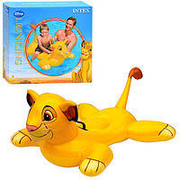 Надувной плотик львенок Симба