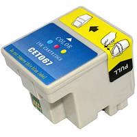 Струйный картридж WOX EPSON T067 (C13T06704010) 28ml Stylus Color C48