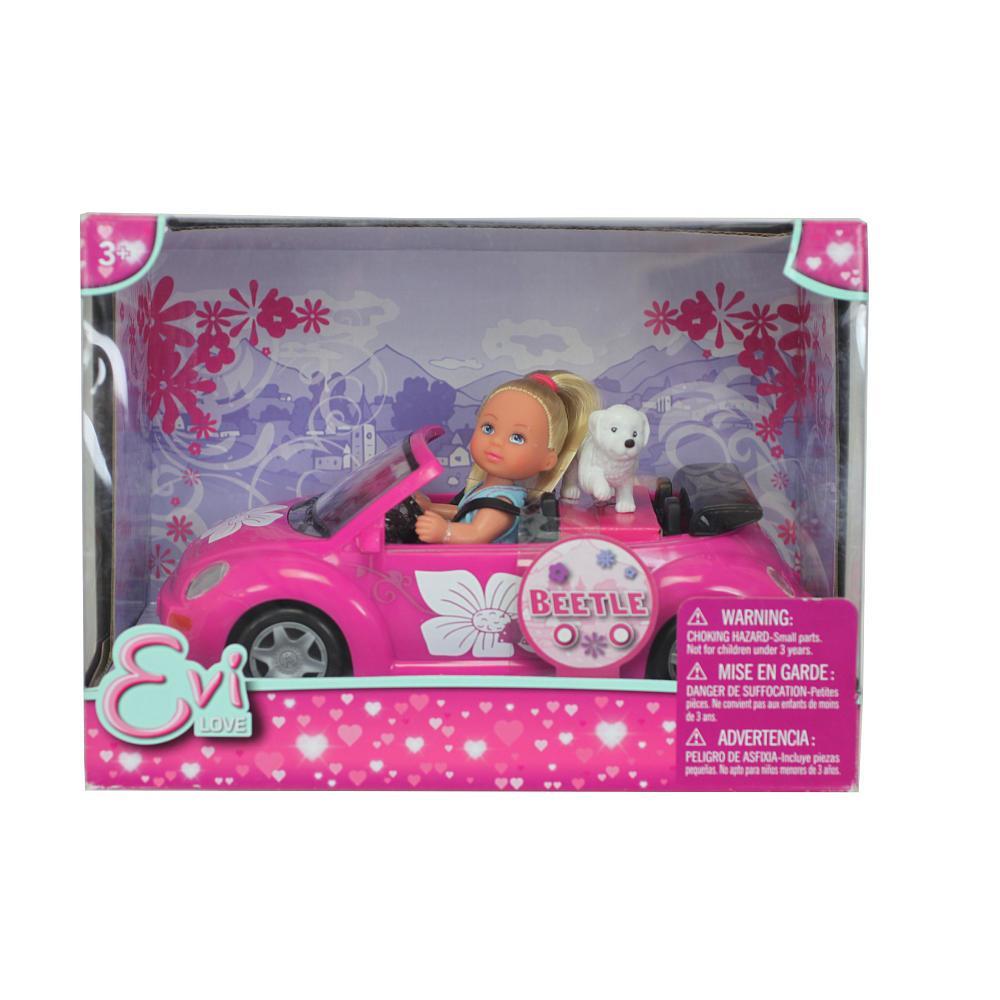 Кукла Evi Love на автомобиле