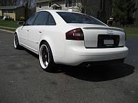 Лип спойлер , сабля на Ауди А6 С5,  Audi A6 C5
