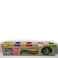 Пластилін маса для ліплення 5 кольорів по 100 грам