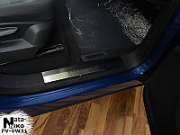 Накладки на внутренние пороги Volkswagen TOUAREG II/FL с 2010-2014- гг. (NataNiko)