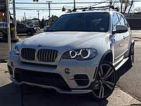 Накладка переднего бампера BMW X5 е70 LCI Aero