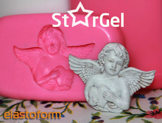 Силикон StarGel NV (Италия), ультрабыстрый. СтарГель,уп.500г
