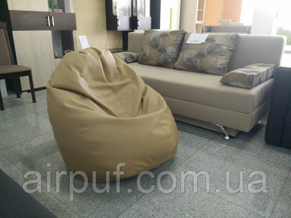 Кресло-овал (материал эко-кожа Зевс), размер 130*100 см, фото 2