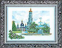 """Набор для вышивки бисером на натуральном художественном холсте """"Покровский собор"""""""