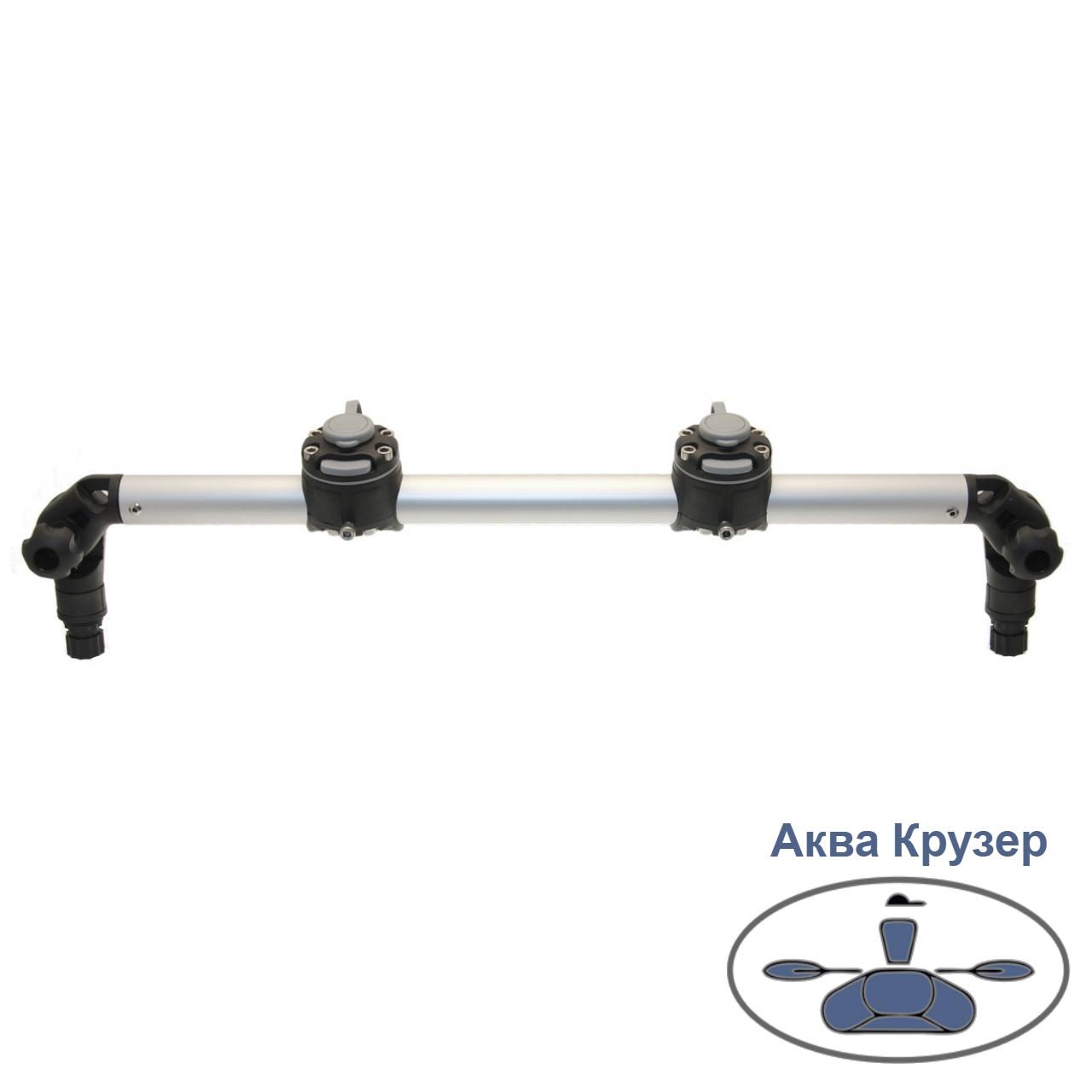 Тарга FASTen Borika Gr610-2 610 мм з двома замками, колір - чорний