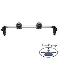 Тарга FASTen Borika Gr610-2 610 мм з двома замками, колір - чорний, фото 1