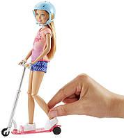Оригинальная Барби, кукла Стейси на самокате, Barbie Stacie Scooter