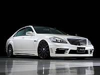 Обвес на Mercedes S W221 Wald Black Bison