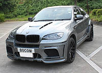Комплект обвеса BMW X6 E71 в X6M Hamann Wide-body Central exhaust
