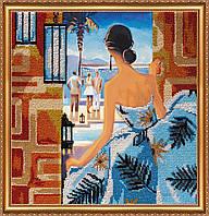 """Набор для вышивки бисером на натуральном художественном холсте """"Окно в Рио"""""""