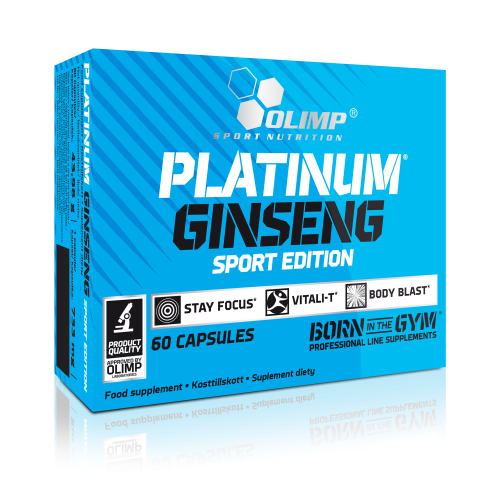OLIMP Platinum Ginseng Sport Edition 60 caps Олимп жень шень
