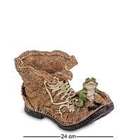 "Статуэтка-кашпо ""Старый Башмак"" 25x14x13,5 см., полистоун Sealmark, США"