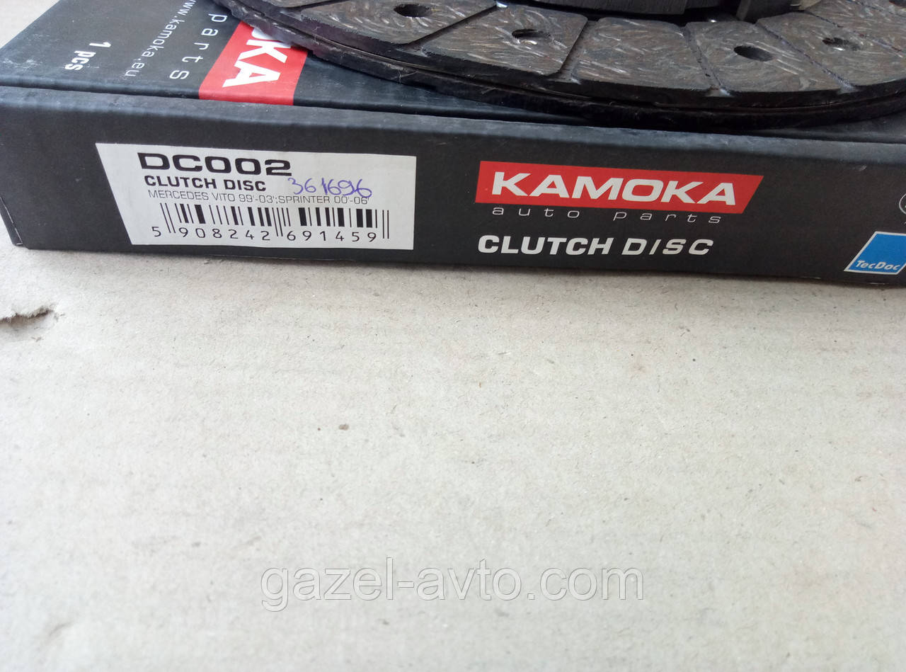 Диск сцепления ведомый Mercedes Sprinter (пр-во KAMOKA)