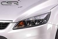 Накладки на фары, реснички Форд Фокус 2 C307