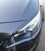 Реснички на фары Opel Astra 4 J (накладки)