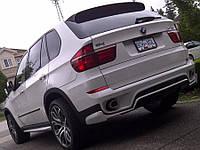 Накладка заднего бампера BMW X5 LCI, стиль Aero