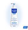 Нежный очищающий гель для головы и тела Mustela 500 ml.