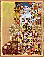 """Набор для вышивки бисером на натуральном художественном холсте """"Золотая Адель"""""""