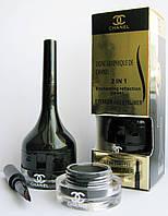 Гелевая подводка и моно тени для бровей Chanel (Шанель)