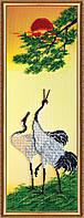 """Набор для вышивки бисером на натуральном художественном холсте """"Японский мотив-1"""""""