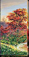 """Набор для вышивки бисером на натуральном художественном холсте """"Осенние зарисовки-1"""""""