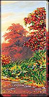 """Набор для вышивки бисером на натуральном художественном холсте """"Осенние зарисовки-3"""""""