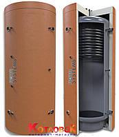 Буферная ёмкость (теплоаккумулятор) AquaSystems серии AQS-T1B с верхним теплообменником из нержавейк