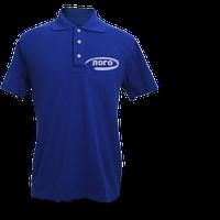 Друк логотипу або написів на чоловічих футболках поло