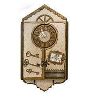 Ключница с часами (200*400*70мм.)
