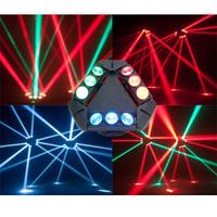 Вращающийся светодиодный бим прибор KAOS 9*10W RGBW