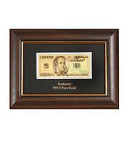 "HB- 077 Панно ""Банкнота 100 USD (доллар) США"""