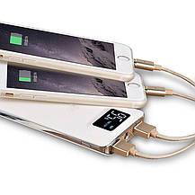 Внешний аккумулятор c ЖК-дисплеем (Power Bank) - 10000 mAh, фото 2