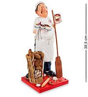 "Статуэтка ""Пекарь"" 19x17x38 см., полистоун Forchino, Франция"