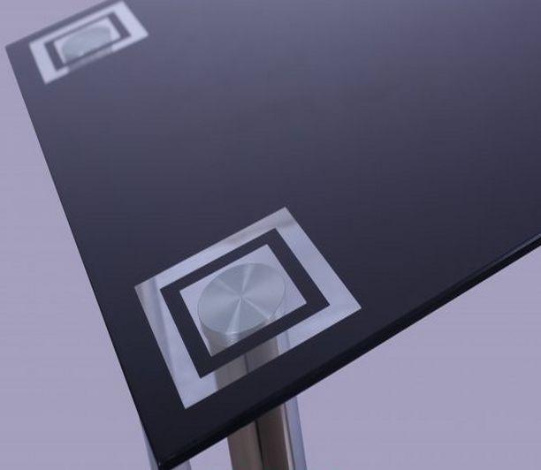 Стол Дакар ROT-44 столешница - закаленное стекло в увеличенном виде.