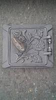 Зольная дверка (сажатруска)15см-15см чугун