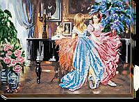 """Набор для вышивки бисером на натуральном художественном холсте """"Концерт"""""""