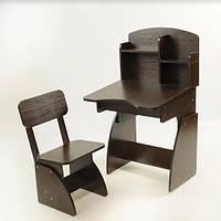 Детская парта +стульчик растущие Венге