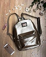 Модный серебряный рюкзак Moschino