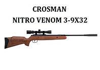 Пневматическая винтовка Crosman Nitro Venom 3-9х32, фото 1