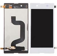 Дисплей (экран) для Sony D2202 Xperia E3/D2203/D2206 + с сенсором (тачскрином) белый