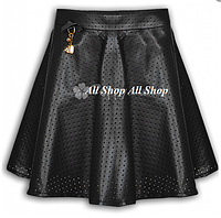 Детская школьная юбка Mone для девочки,черный,р. 122, 134, 140, 146, 152